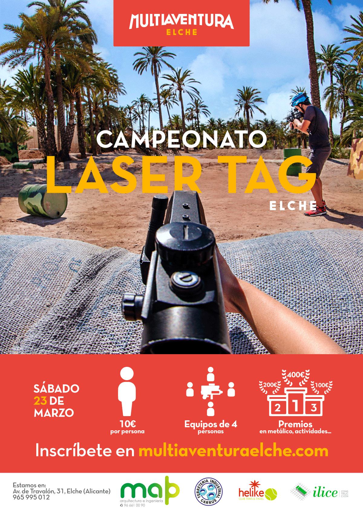 I Campeonato Laser Tag Multiaventura Elche