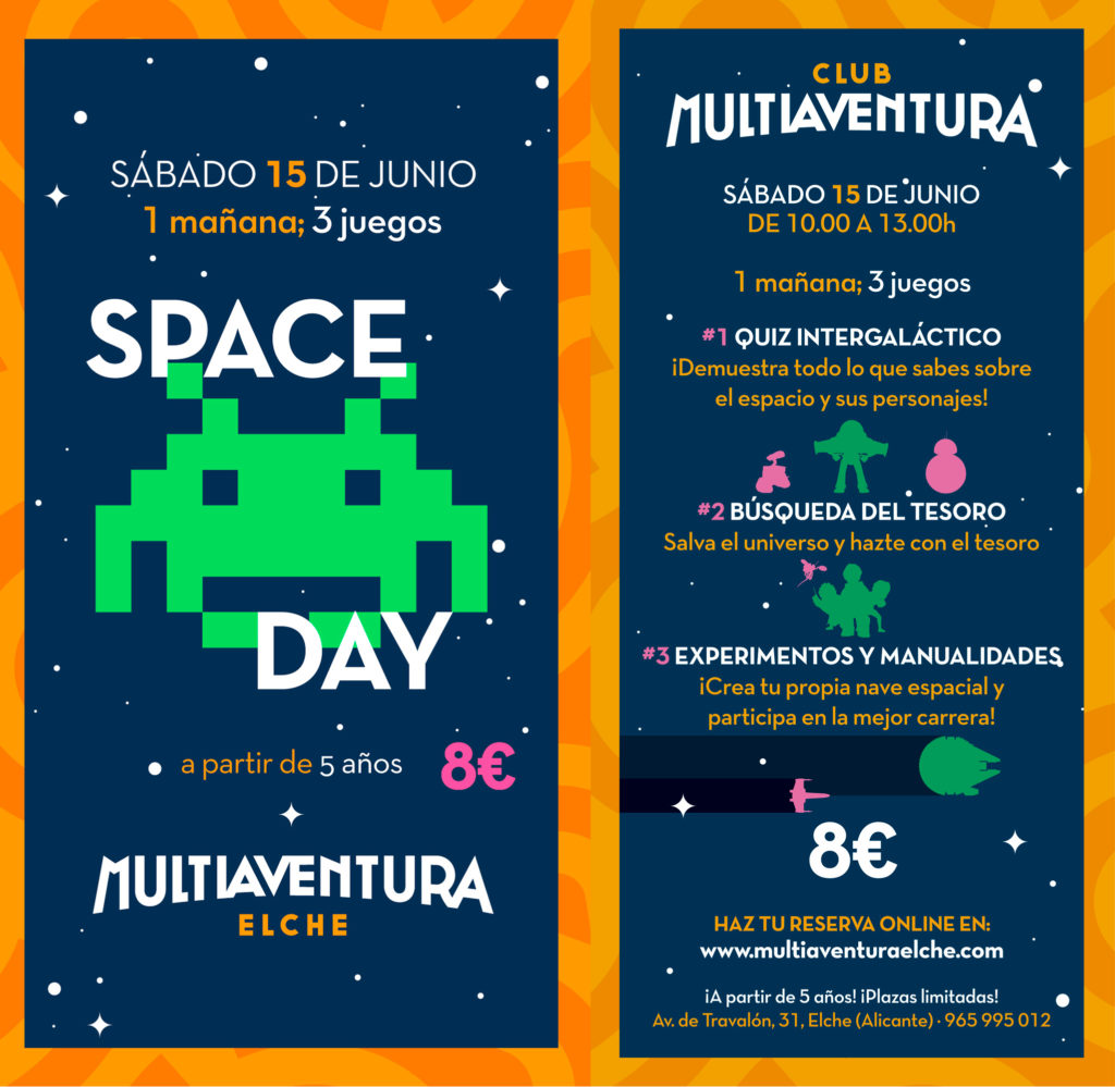 jornada infantil club multiaventura space day multiaventura elche