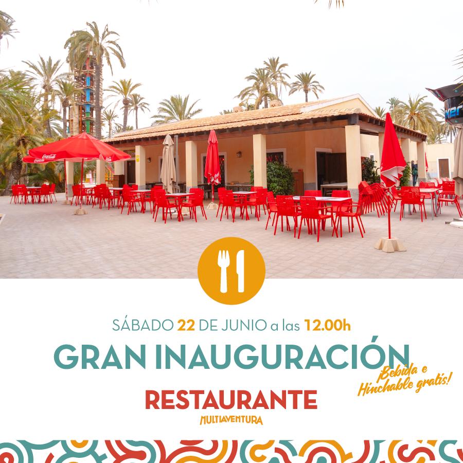 Inauguración Restaurante Multiaventura Elche
